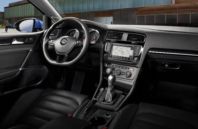 2017 vw golf interior design