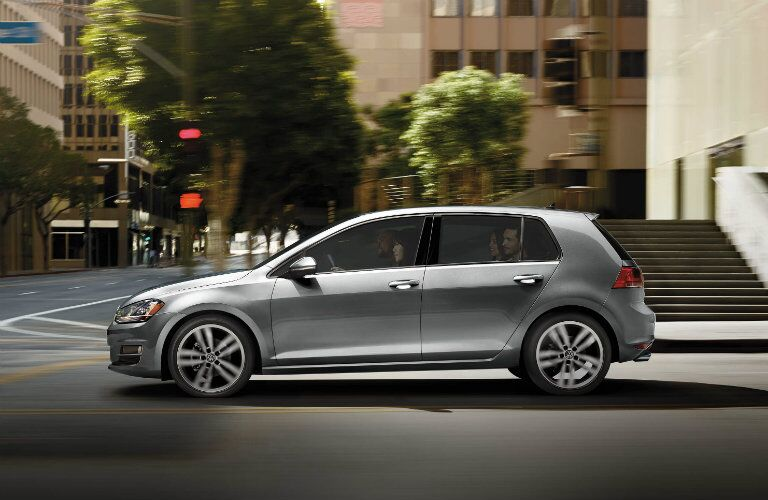 2017 vw golf in grey gray