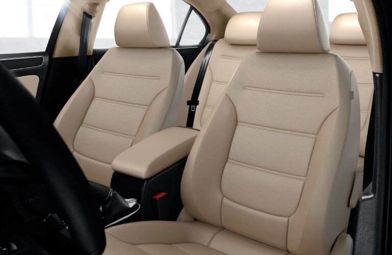 vw jetta with tan v-tex leatherette seats