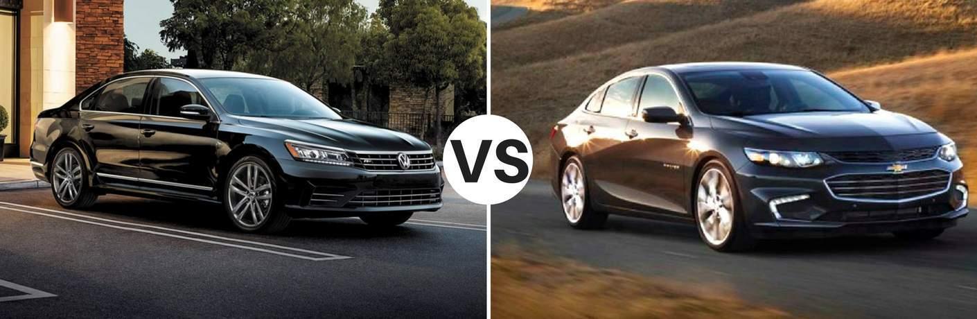 2017 Volkswagen Passat vs 2017 Chevy Malibu