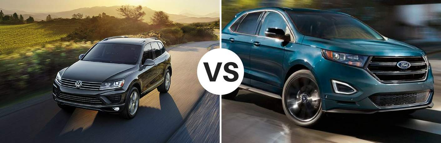 2017 Volkswagen Touareg vs 2017 Ford Edge