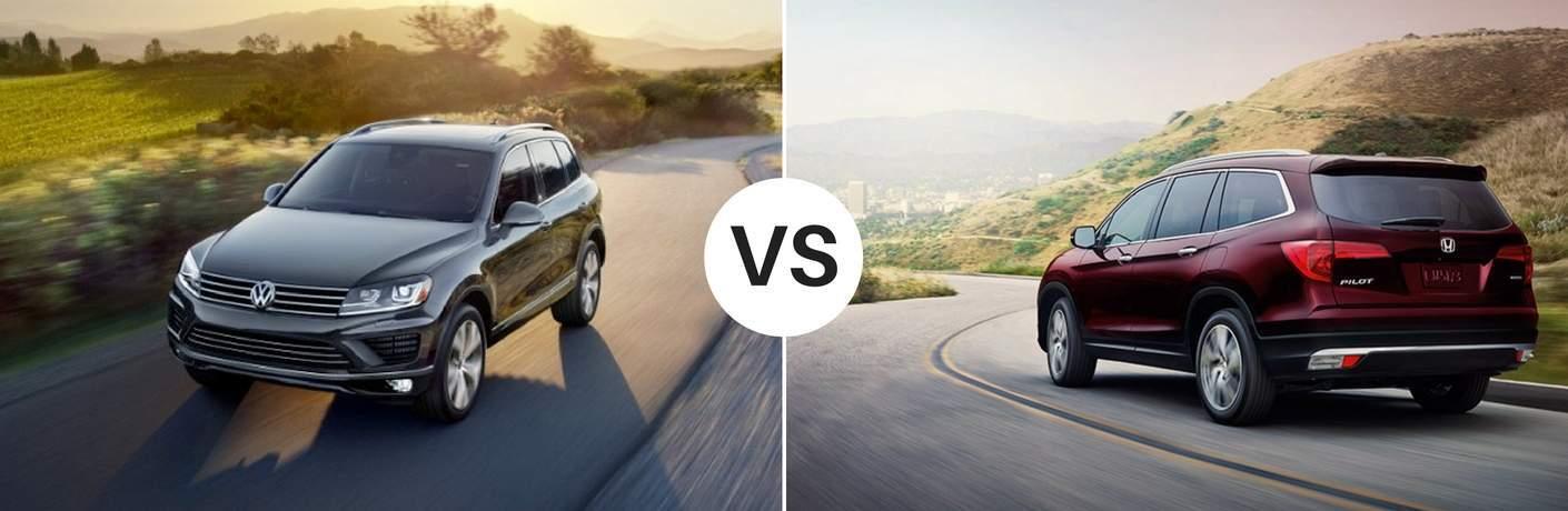 2017 Volkswagen Touareg vs 2017 Honda Pilot