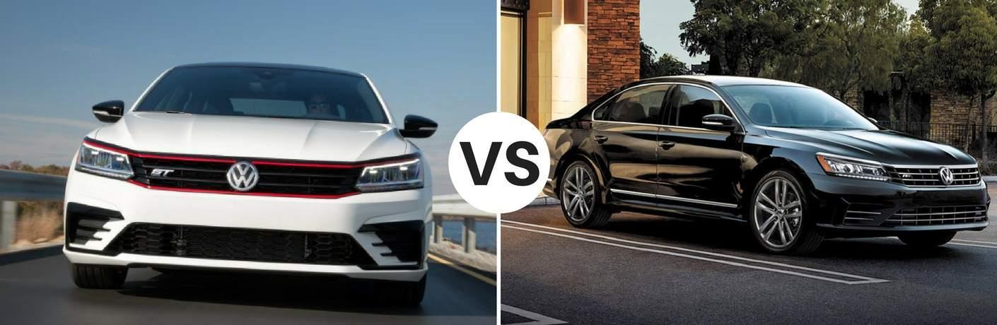 2018 Volkswagen Passat vs 2017 Volkswagen Passat
