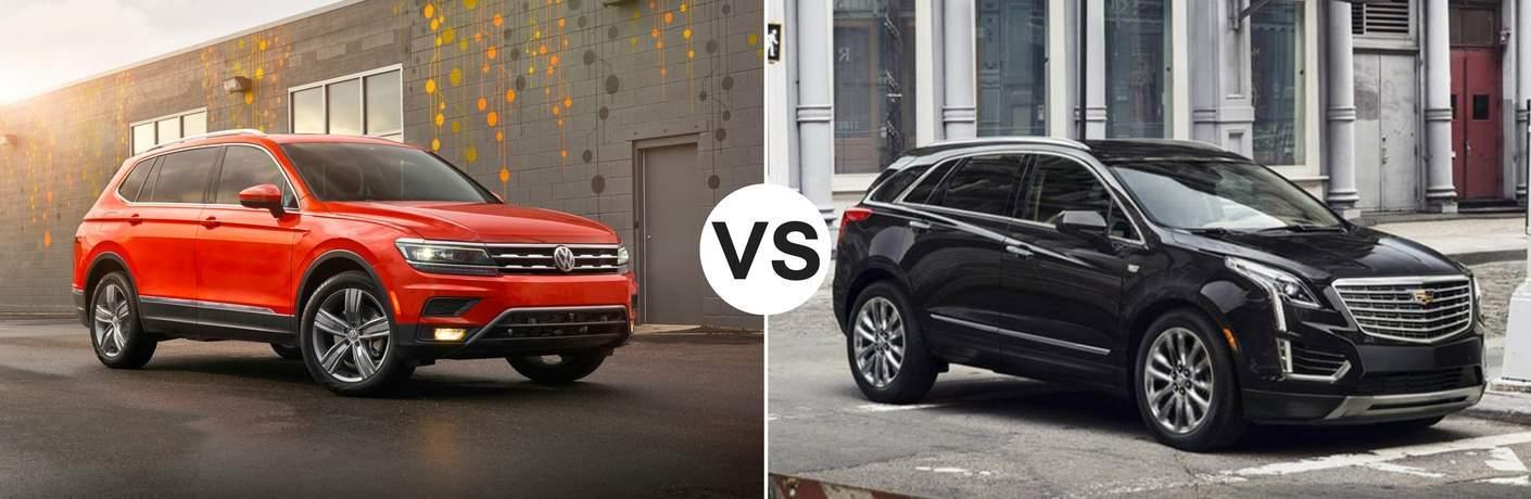 2018 Cadillac XT5 vs. 2018 Volkswagen Tiguan Summit NJ | Livingston