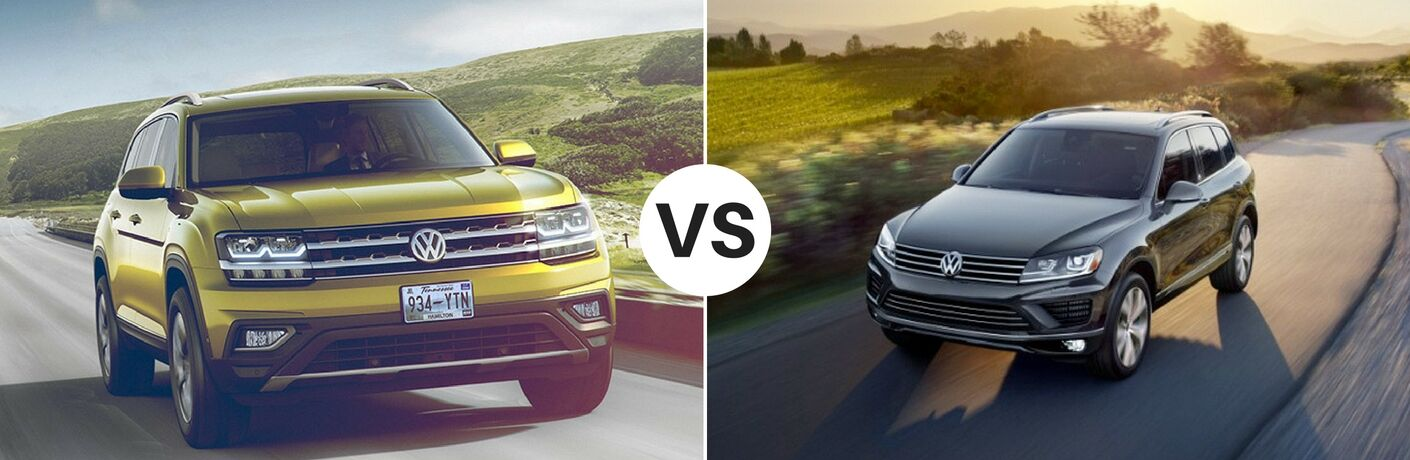 2017 Volkswagen Touareg vs. 2018 Volkswagen Atlas Summit NJ | Livingston