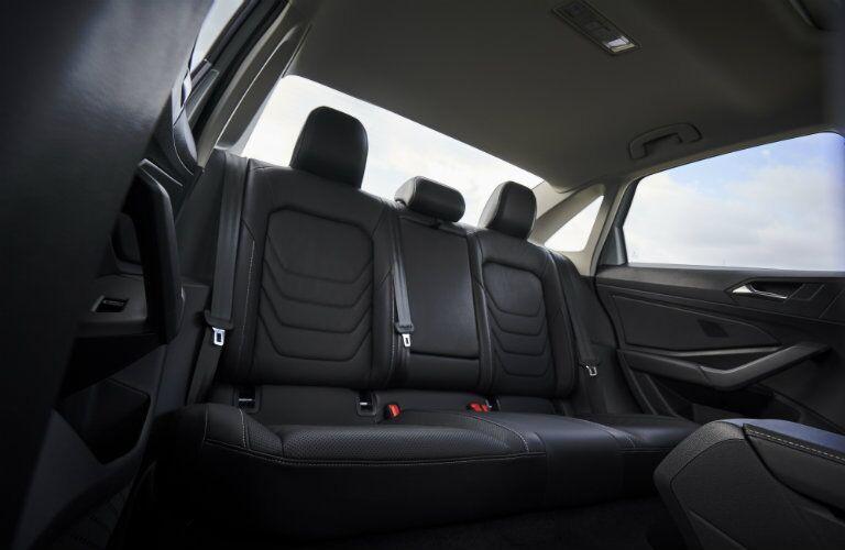 Back seats of 2019 Volkswagen Jetta