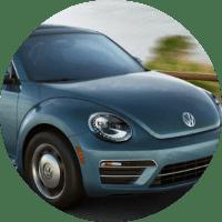 Front end of the 2018 Volkswagen Beetle Coast