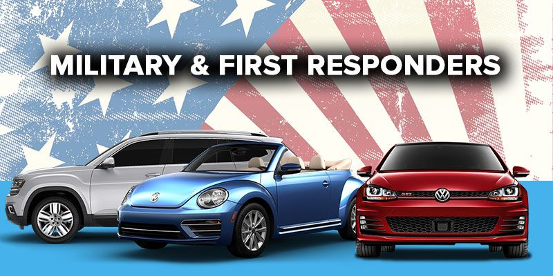 Volkswagen Military and First Responder Discount