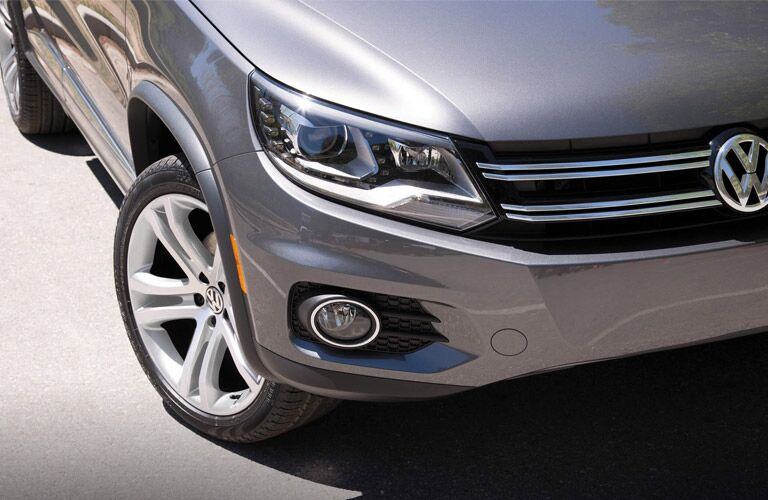 grille design on the 2016 vw tiguan