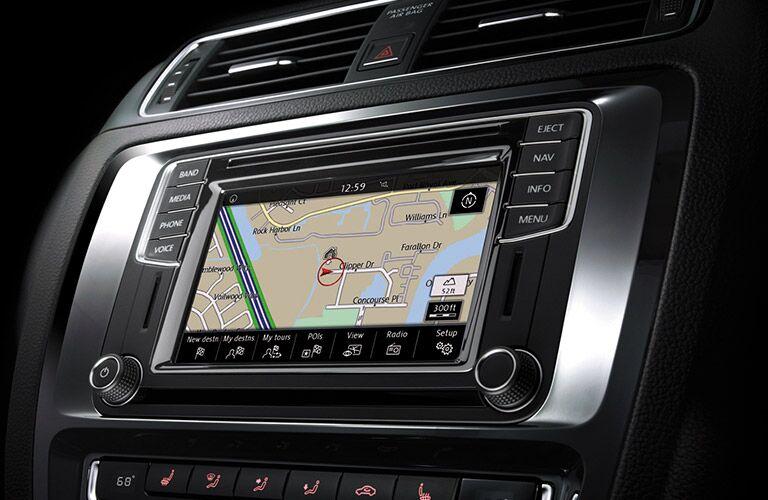2016 vw jetta infotainment navigation touchscreen display