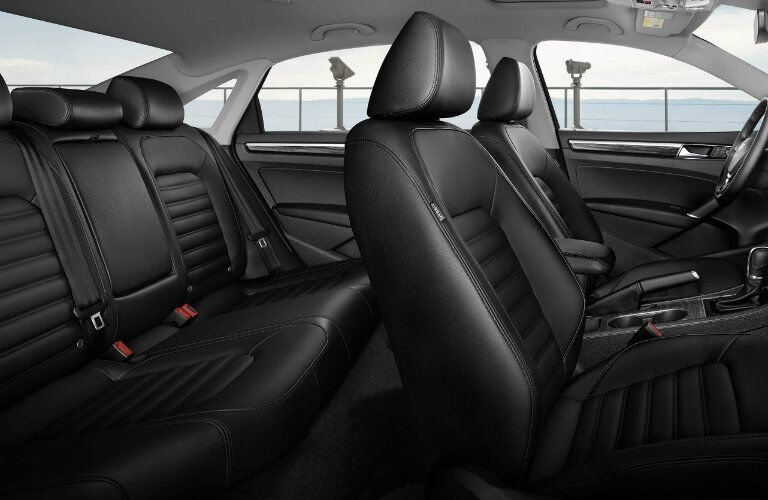 seating materials in the 2016 vw passat
