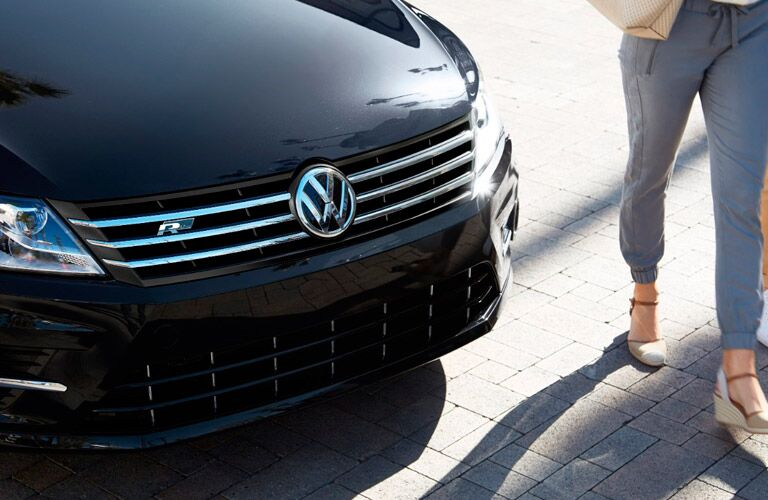 grille design on vw cc