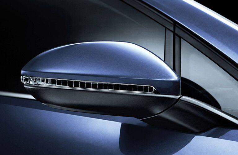 vw golf exterior mirror design