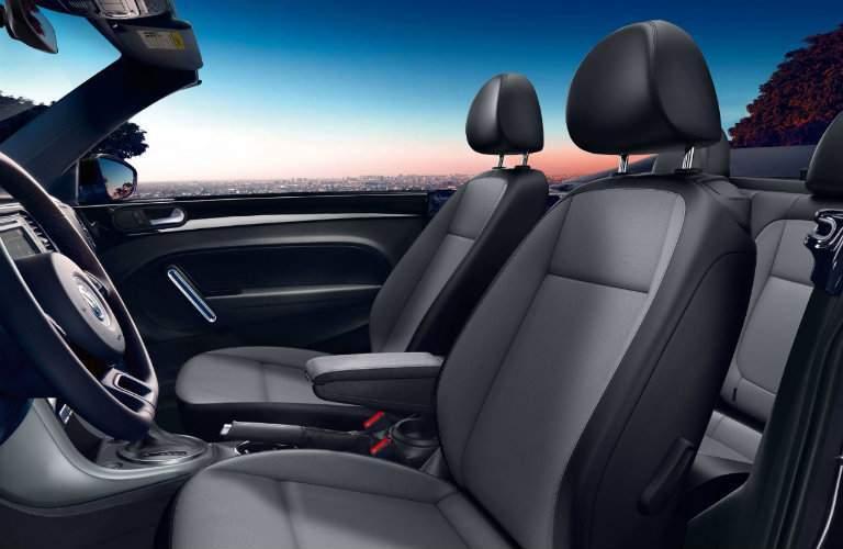 2017 volkswagen beetle convertible interior seating steering wheel
