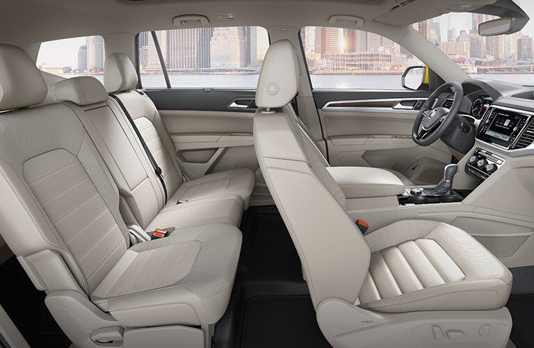 2018 vw atlas interior seating