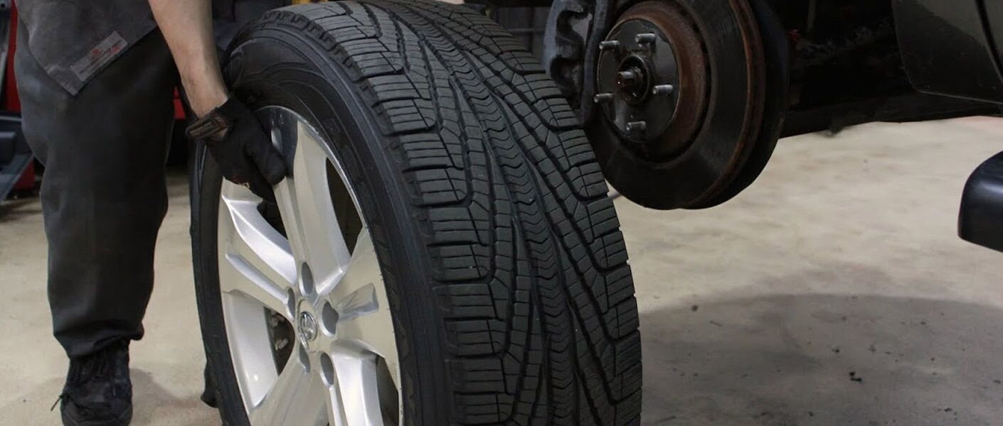 Repair your tire in Trussville AL at Serra Mazda.