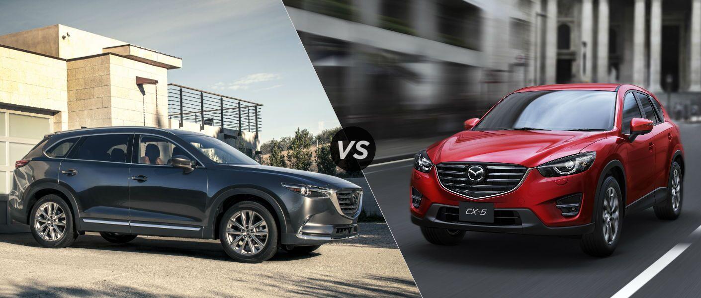 2016 Mazda Cx 9 Vs 2016 Mazda Cx 5