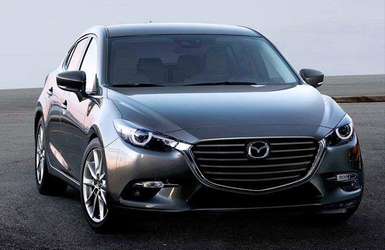 2017 Mazda3 5-Door Exterior View in Gray