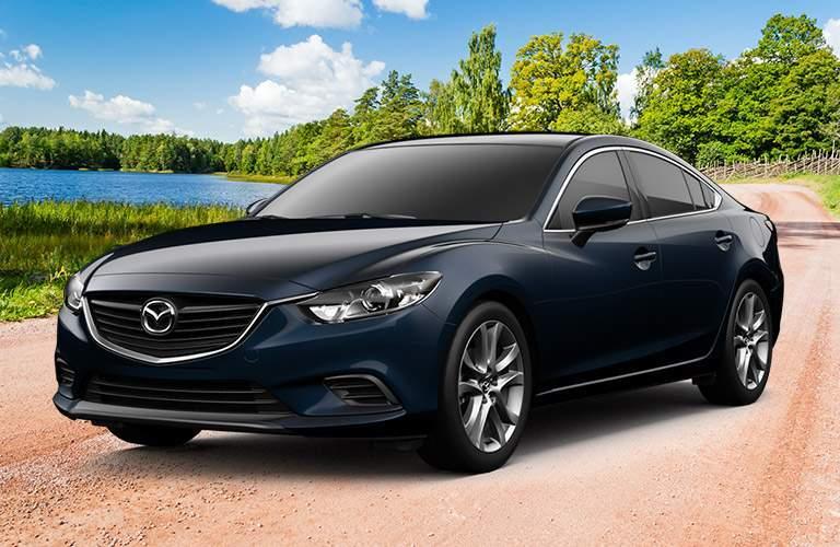 Mazda6 Exterior View in Black