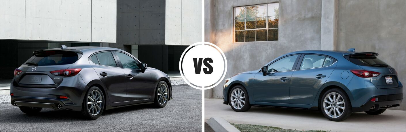 2017 Mazda3 Hatchback Vs 2016 Mazda3 Hatchback