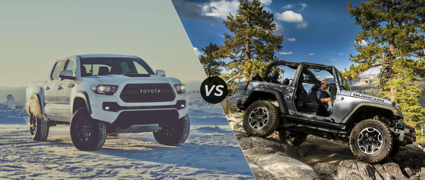 toyota tacoma vs jeep rubicon autos post. Black Bedroom Furniture Sets. Home Design Ideas