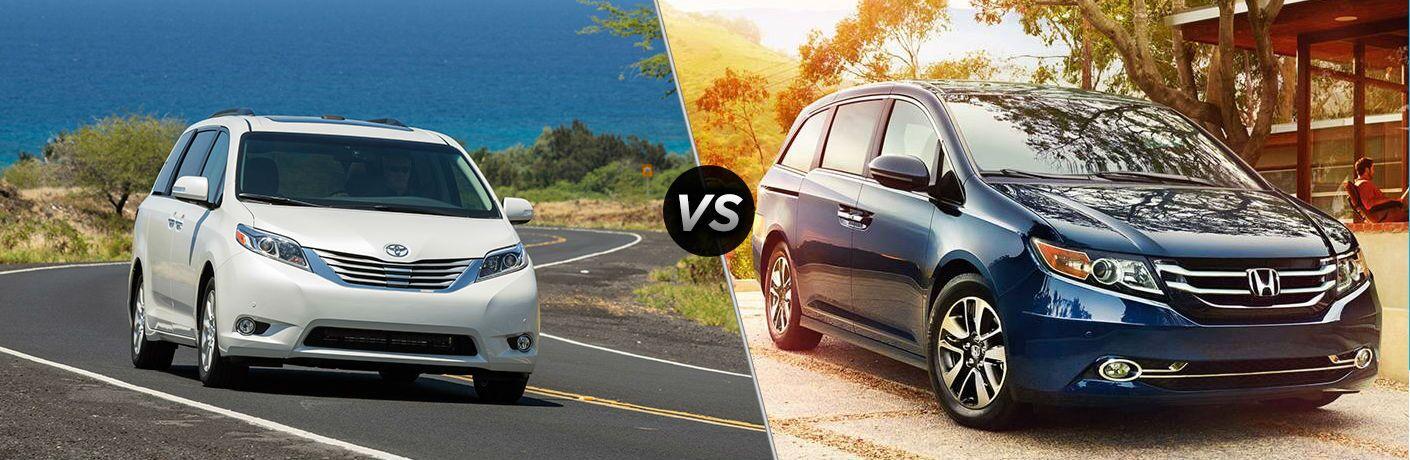 2016 Toyota Sienna vs 2016 Honda Odyssey