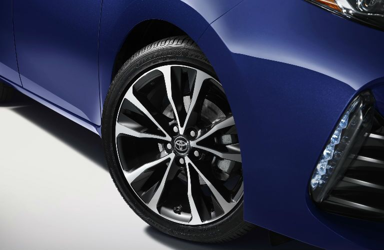 2017 Corolla alloy wheels