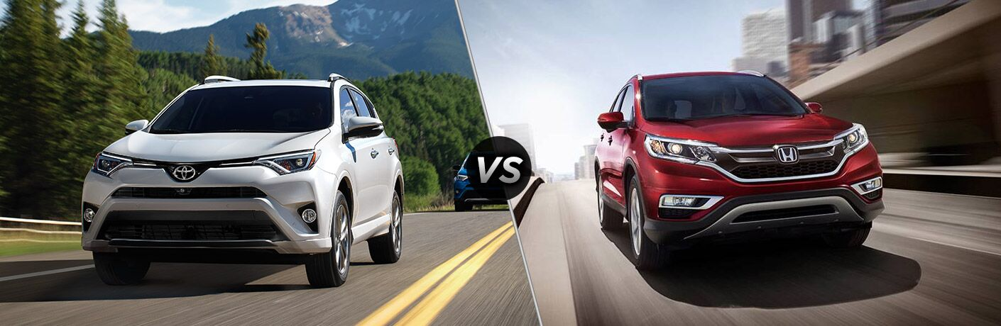 2017 toyota rav4 vs 2016 honda cr v for Honda crv competitors