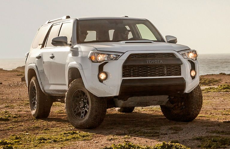 Headlights Illuminated on the 2017 Toyota 4Runner TRD Pro