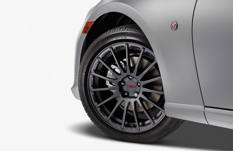 2017 Toyota 86 TRD wheels