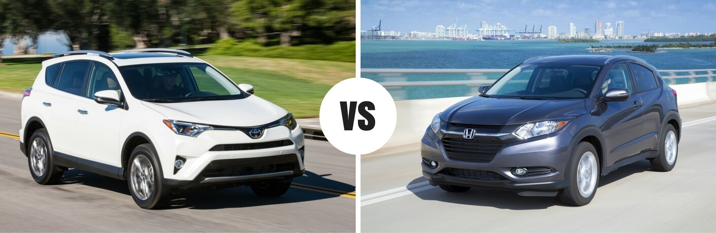 2017 toyota rav4 vs 2017 honda hr v for 2017 honda crv vs toyota rav4