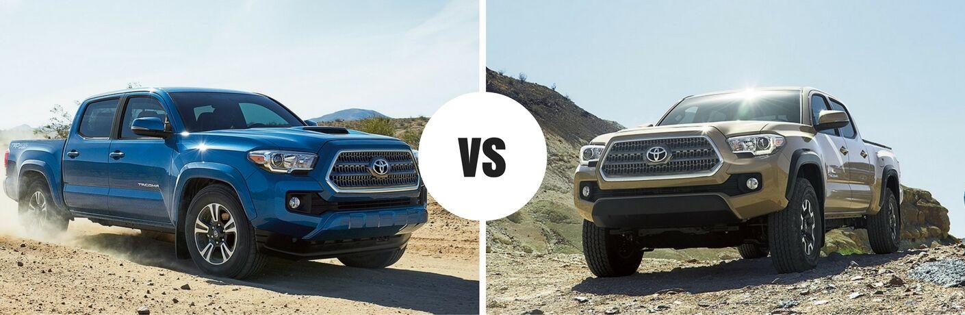 2017 Toyota Tacoma vs 2016 Toyota Tacoma