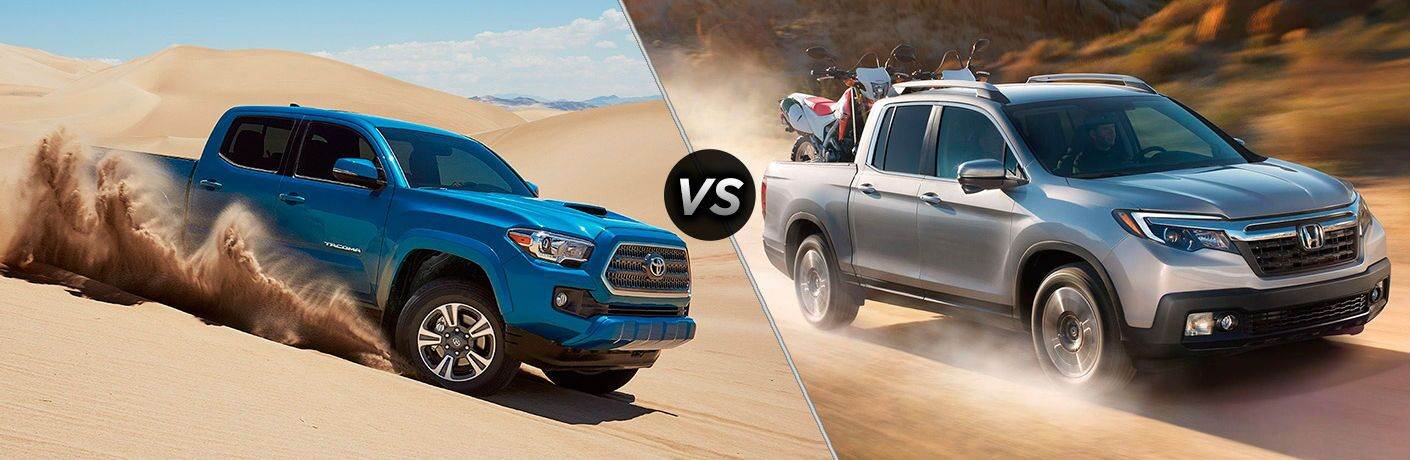 2017 Toyota Tacoma vs 2017 Honda Ridgeline