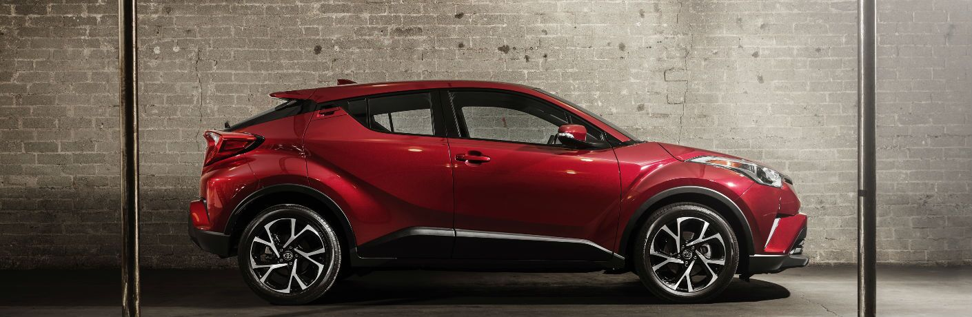 2018 Toyota C-HR Exterior Side View in Red
