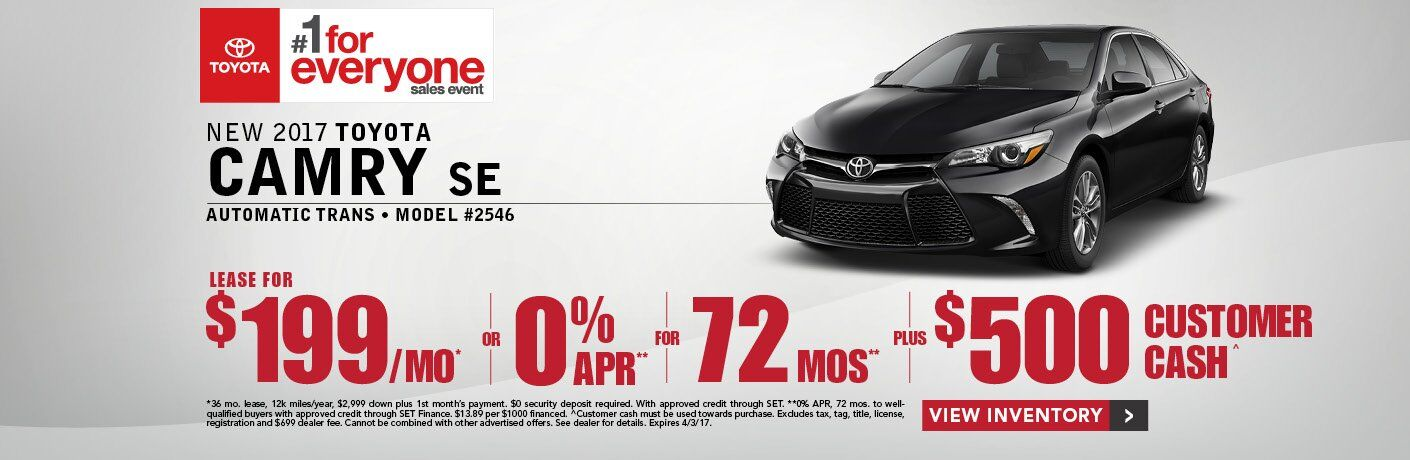 New Toyota Camry Lease Decatur AL