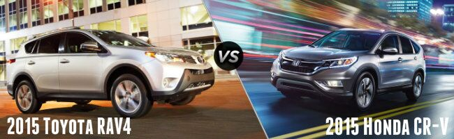 2015 RAV4 vs 2015 Honda CR-V
