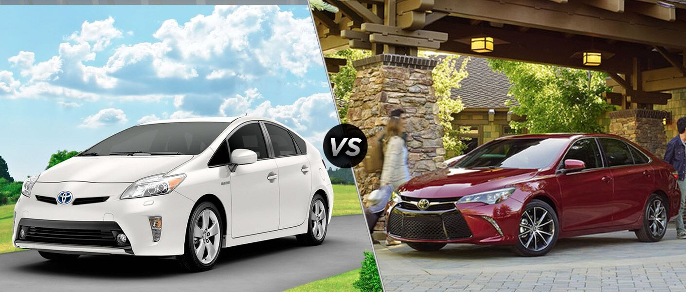 2015 toyota prius vs 2015 toyota camry hybrid. Black Bedroom Furniture Sets. Home Design Ideas