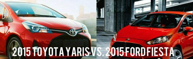 2015 Toyota Yaris vs 2015 Ford Fiesta