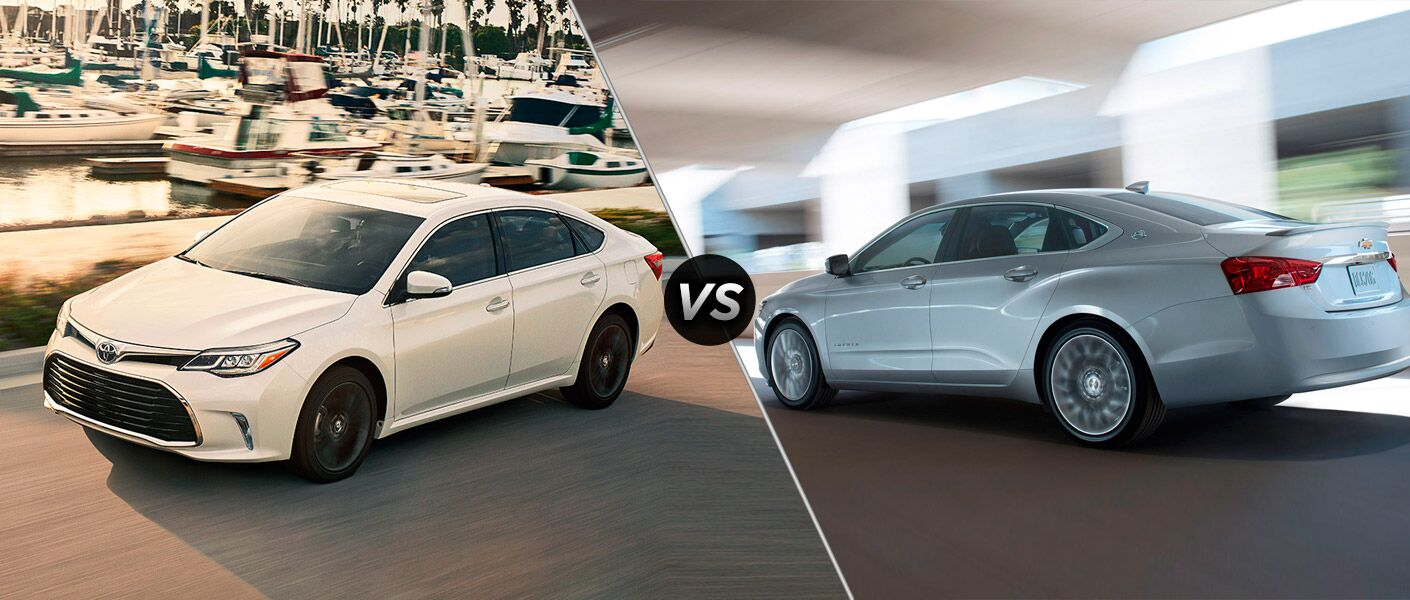 2016 Toyota Avalon vs 2016 Chevy Impala