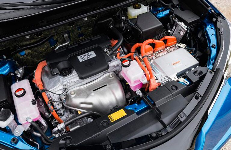 2017 Toyota Hybrid engine_o