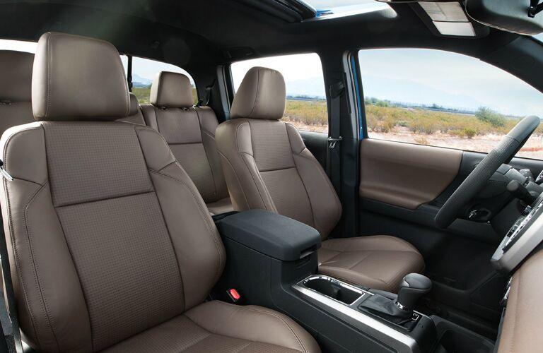 2016 Toyota Tacoma interior cab
