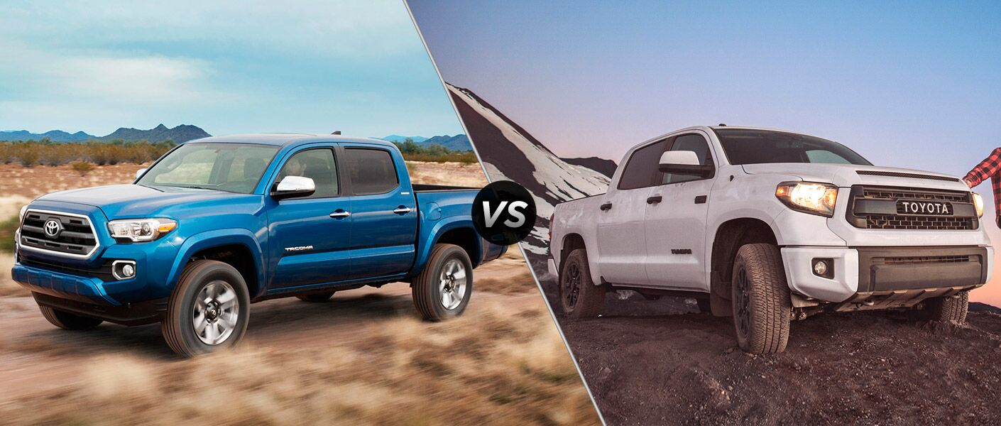 Worksheet. 2016 Toyota Tacoma vs 2016 Toyota Tundra