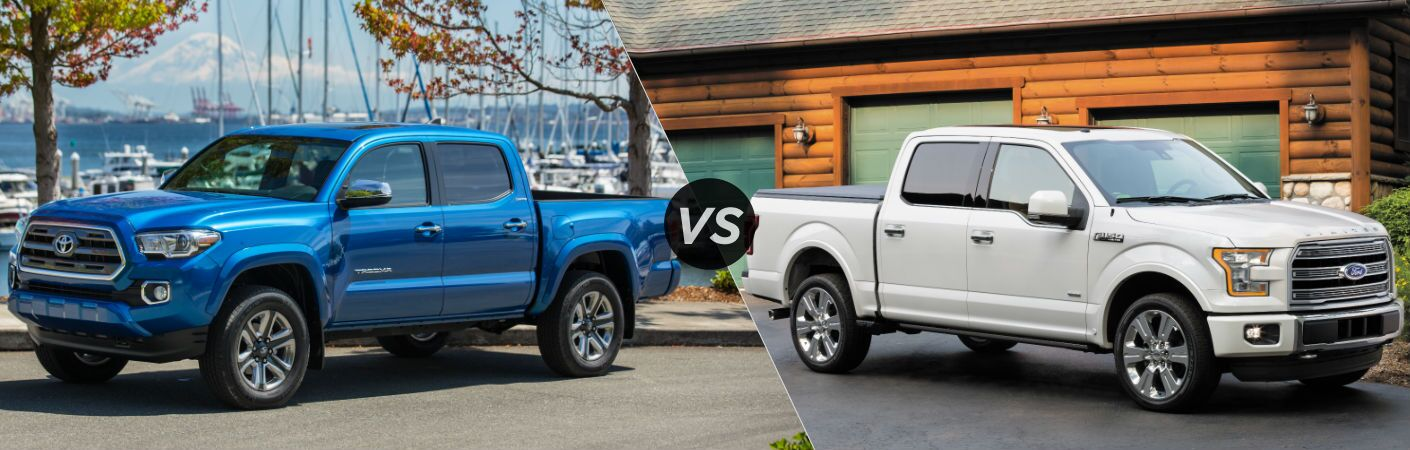 2016 Toyota Tacoma vs 2016 Ford F-150