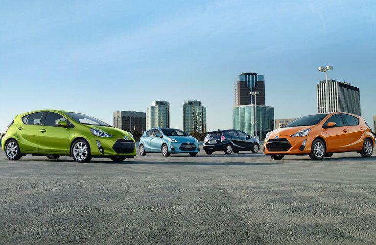 2016 Prius C exterior colors