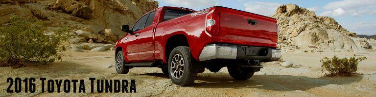 2017 Toyota Tundra back exterior