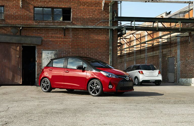 2016 Toyota Yaris new color option