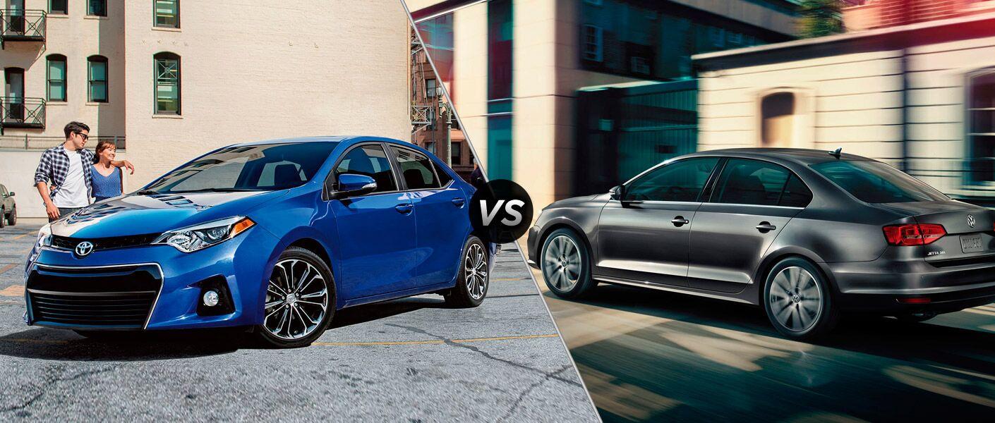 2017 Toyota Corolla vs. 2017 Volkswagen Jetta