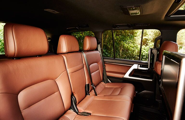 2017 Toyota Landcruiser leather seats