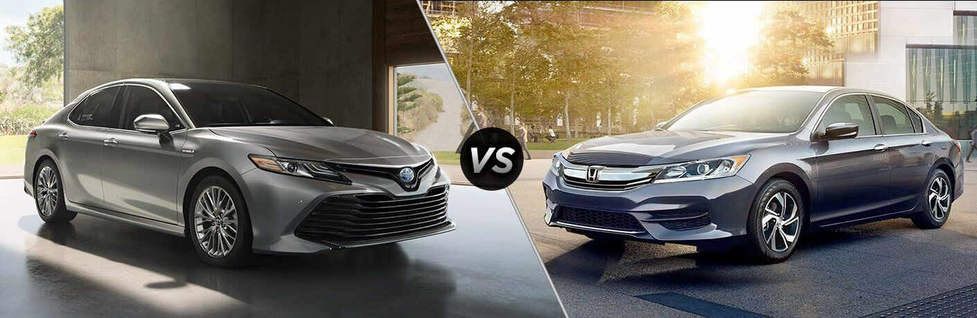 2018 toyota camry vs 2017 honda accord for Honda accord vs toyota camry 2017