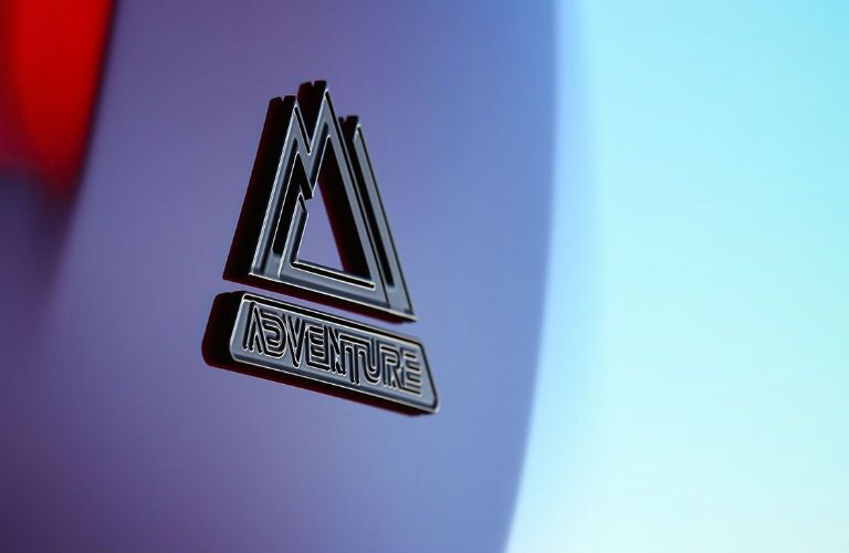 2018 Toyota RAV4 Adventure Emblem on Rear End